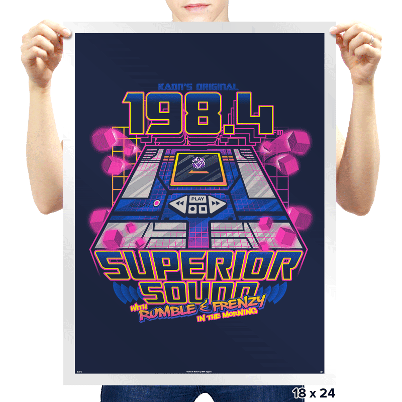 Superior Sound Exclusive - Prints - Posters - RIPT Apparel