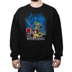 Shell Wars: Return of the Pizza - Crew Neck - Crew Neck - RIPT Apparel