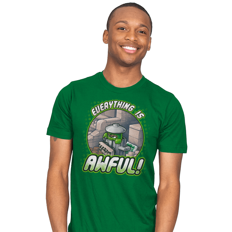 Everything is Awful! - Mens - T-Shirts - RIPT Apparel
