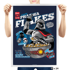 Phasma Flakes - Prints - Posters - RIPT Apparel