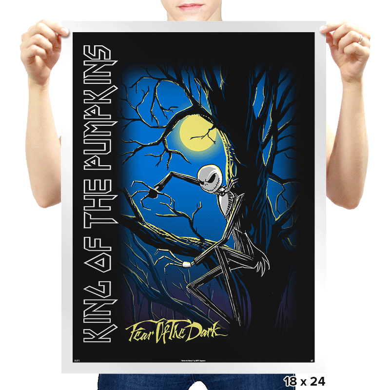 King of the Pumpkins - Prints - Posters - RIPT Apparel