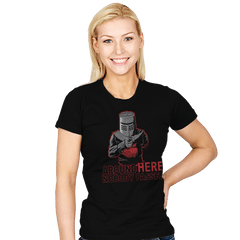 Uncle Black Knight - Womens - T-Shirts - RIPT Apparel