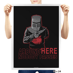 Uncle Black Knight - Prints - Posters - RIPT Apparel