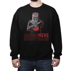 Uncle Black Knight - Crew Neck - Crew Neck - RIPT Apparel