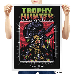 Trophy Hunter - Prints - Posters - RIPT Apparel