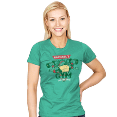 Raph's Gym - Womens - T-Shirts - RIPT Apparel