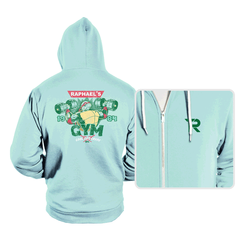 Raph's Gym - Hoodies - Hoodies - RIPT Apparel