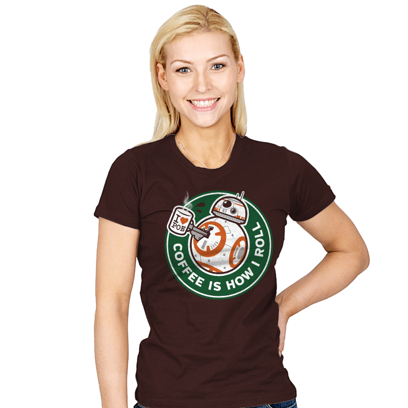 How I Roll - Womens - T-Shirts - RIPT Apparel
