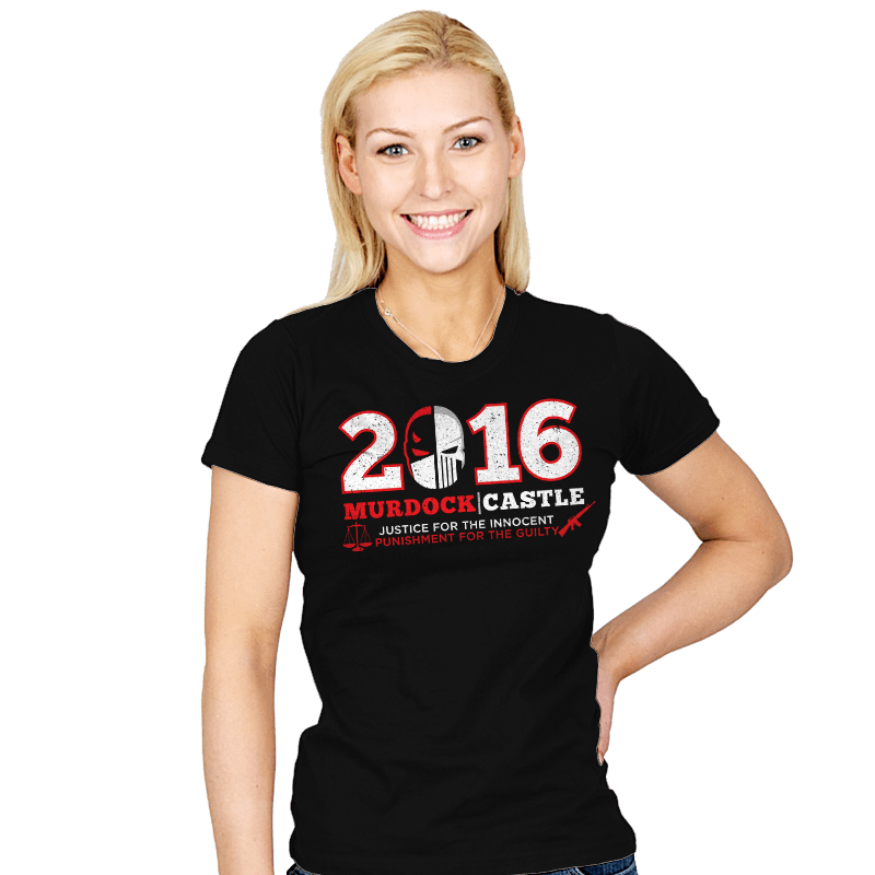 Justice & Punishment 2016 - Womens - T-Shirts - RIPT Apparel