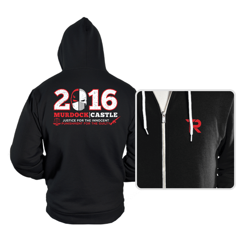 Justice & Punishment 2016 - Hoodies - Hoodies - RIPT Apparel
