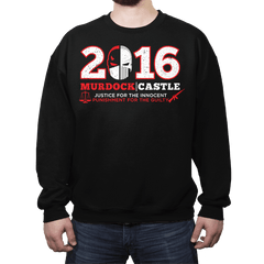 Justice & Punishment 2016 - Crew Neck - Crew Neck - RIPT Apparel