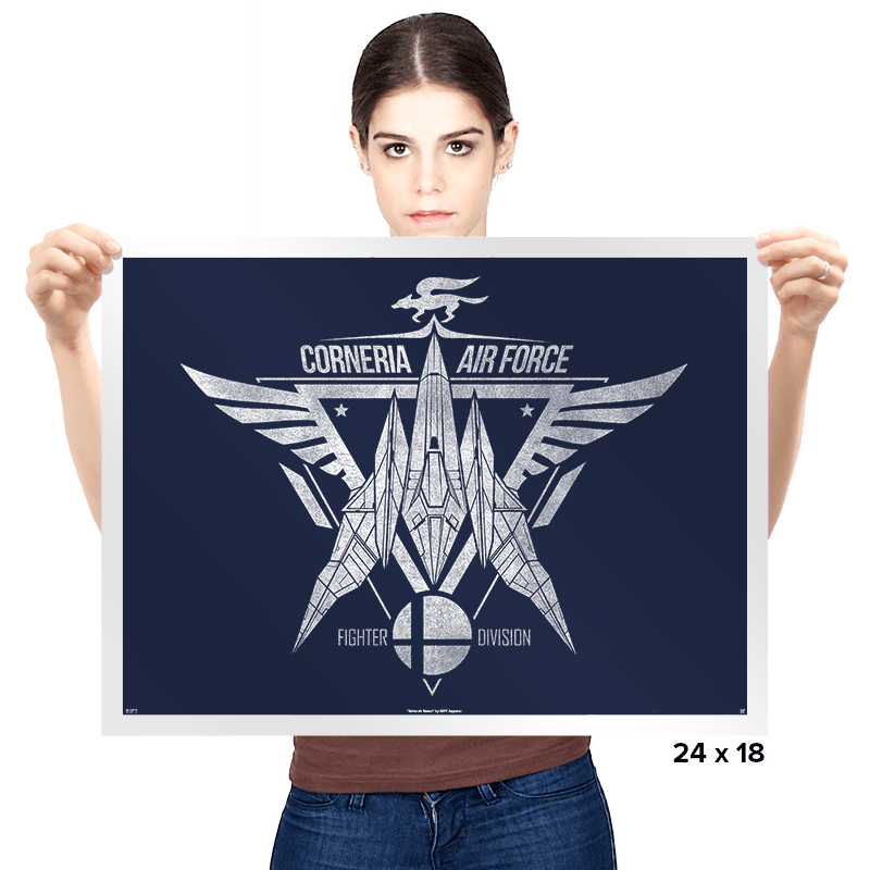 Corneria Fighters - Prints - Posters - RIPT Apparel