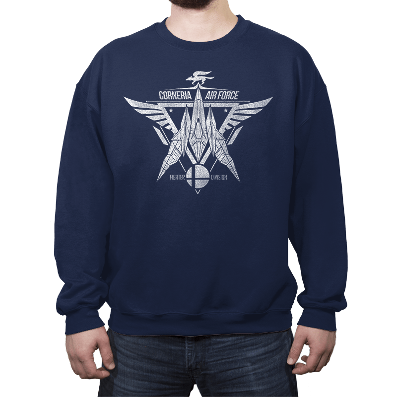 Corneria Fighters - Crew Neck - Crew Neck - RIPT Apparel