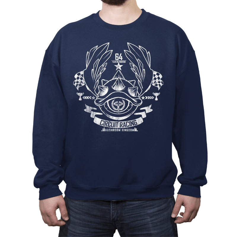 Mushroom Circuit Racing - Crew Neck - Crew Neck - RIPT Apparel