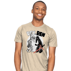 Rey vs Ren - Mens - T-Shirts - RIPT Apparel
