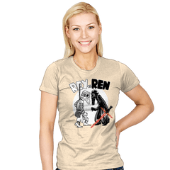 Rey vs Ren - Womens - T-Shirts - RIPT Apparel