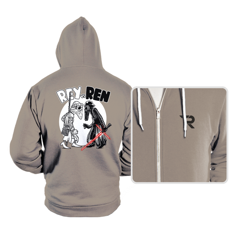 Rey vs Ren - Hoodies - Hoodies - RIPT Apparel