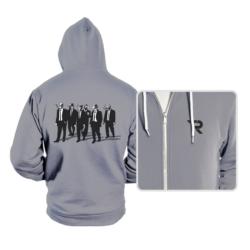 Comic Bad Dogs - Hoodies - Hoodies - RIPT Apparel