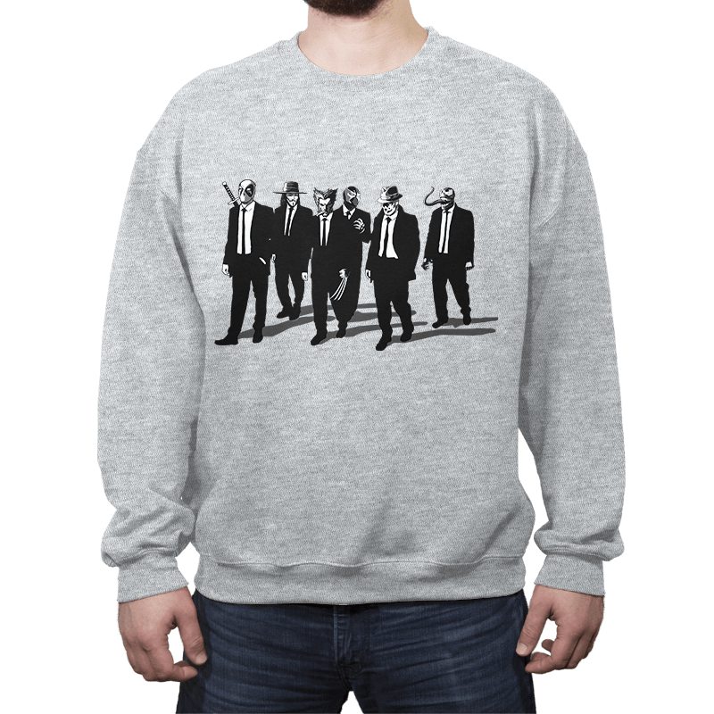 Comic Bad Dogs - Crew Neck - Crew Neck - RIPT Apparel