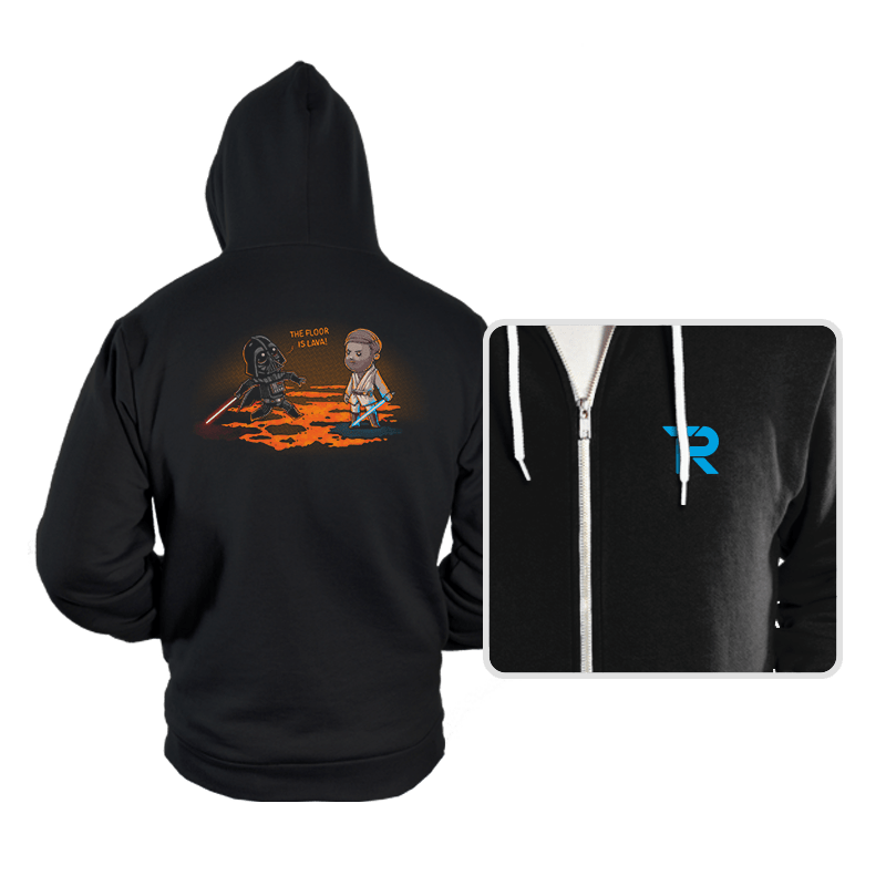 The Floor Is Lava - Hoodies - Hoodies - RIPT Apparel