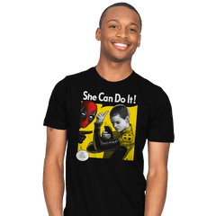 NegasoniCan Do It! - Mens - T-Shirts - RIPT Apparel