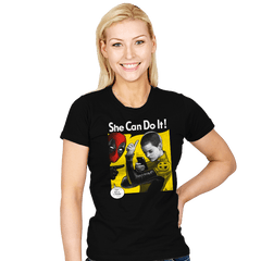 NegasoniCan Do It! - Womens - T-Shirts - RIPT Apparel