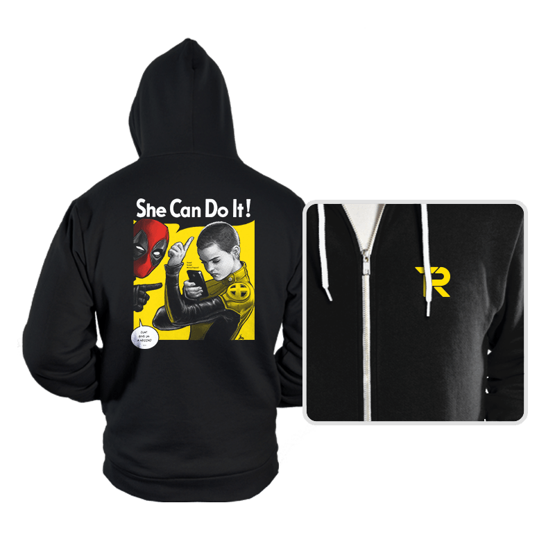 NegasoniCan Do It! - Hoodies - Hoodies - RIPT Apparel
