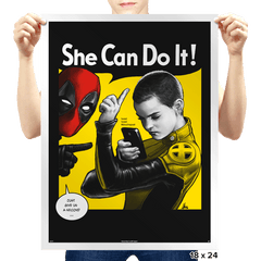 NegasoniCan Do It! - Prints - Posters - RIPT Apparel