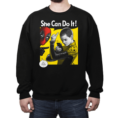 NegasoniCan Do It! - Crew Neck - Crew Neck - RIPT Apparel
