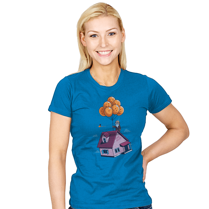 Adventure is Up There - Womens - T-Shirts - RIPT Apparel
