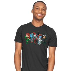 Villainous BFFs - Mens - T-Shirts - RIPT Apparel