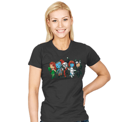 Villainous BFFs - Womens - T-Shirts - RIPT Apparel