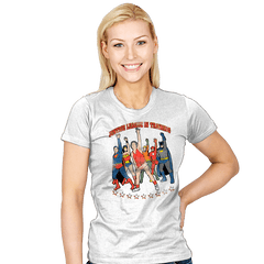 Super Hero Workout - Womens - T-Shirts - RIPT Apparel