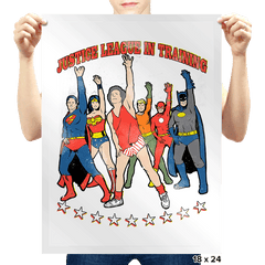 Super Hero Workout - Prints - Posters - RIPT Apparel
