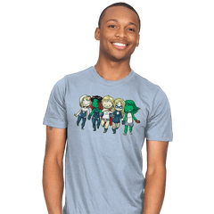 Heroic BFFs - Mens - T-Shirts - RIPT Apparel