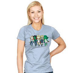Heroic BFFs - Womens - T-Shirts - RIPT Apparel