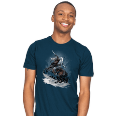 Walker Crossing the North - Mens - T-Shirts - RIPT Apparel