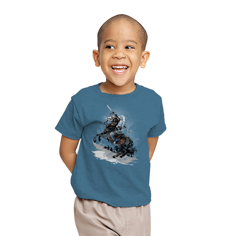 Walker Crossing the North - Youth - T-Shirts - RIPT Apparel