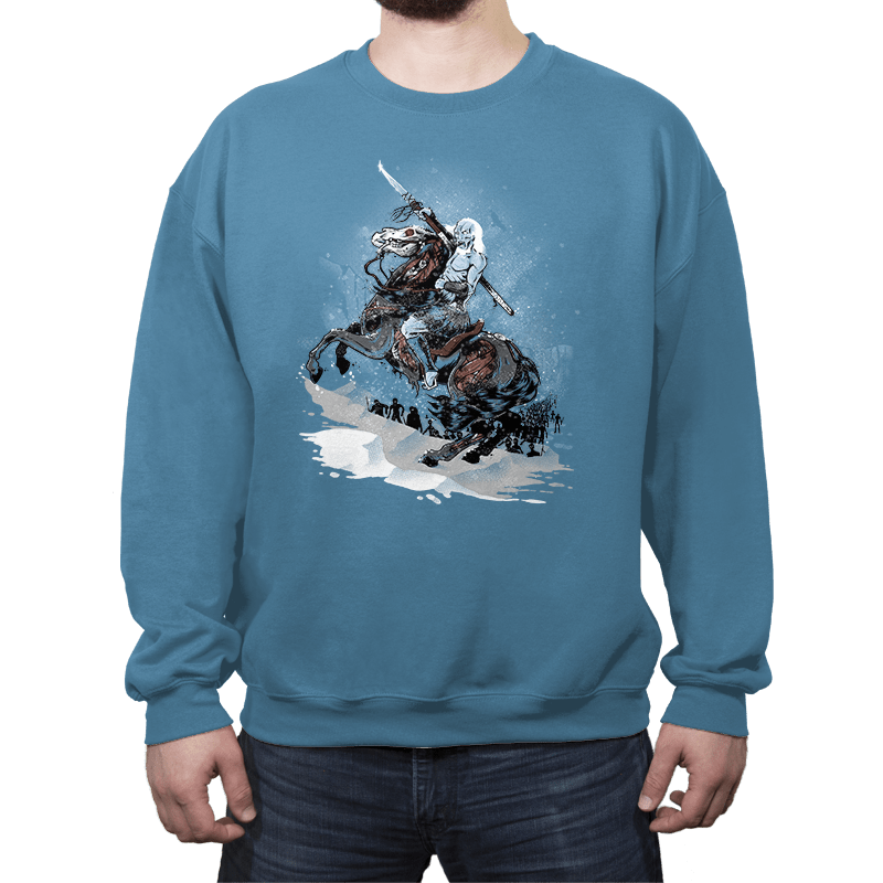 Walker Crossing the North - Crew Neck - Crew Neck - RIPT Apparel