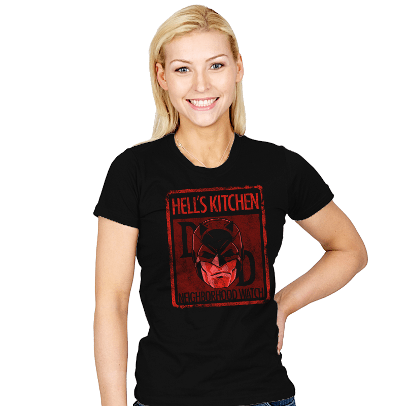Hell's Kitchen Neighborhood Watch - Womens - T-Shirts - RIPT Apparel