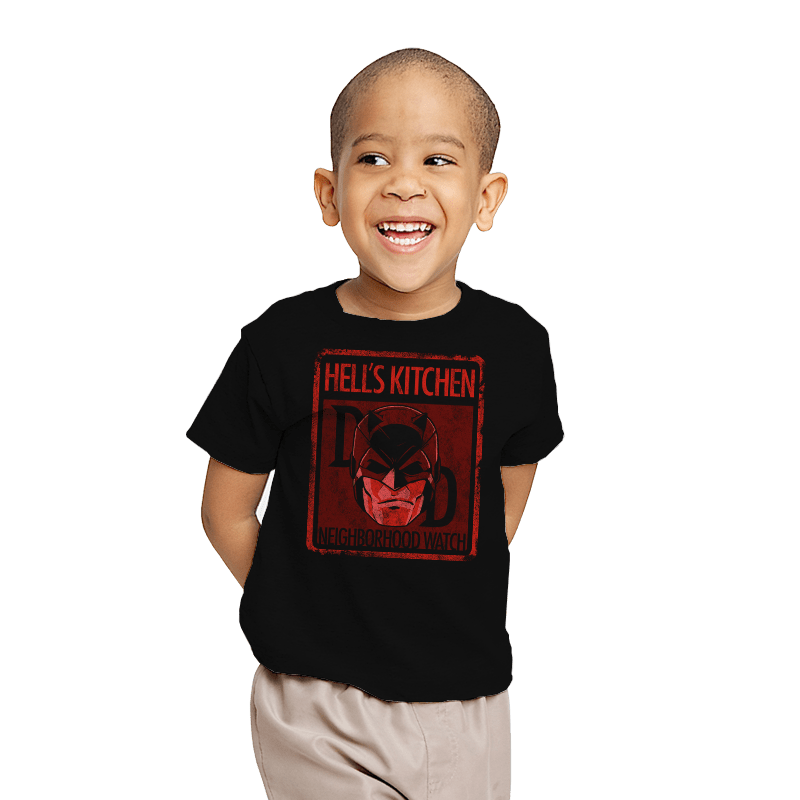Hell's Kitchen Neighborhood Watch - Youth - T-Shirts - RIPT Apparel