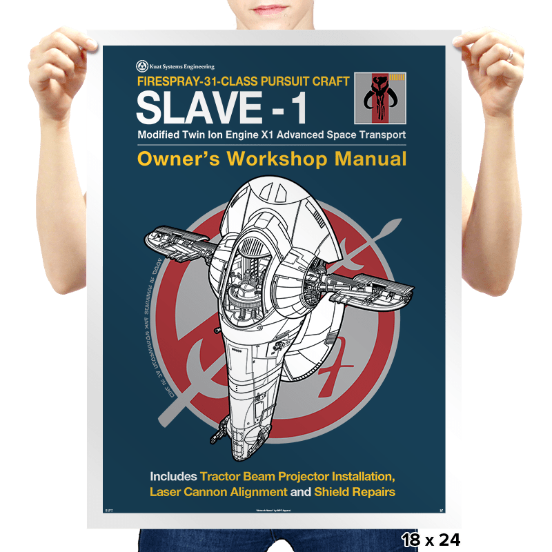 Slave Manual - Prints - Posters - RIPT Apparel