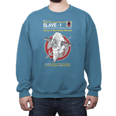 Slave Manual - Crew Neck - Crew Neck - RIPT Apparel