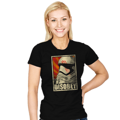 Disobey! - Womens - T-Shirts - RIPT Apparel