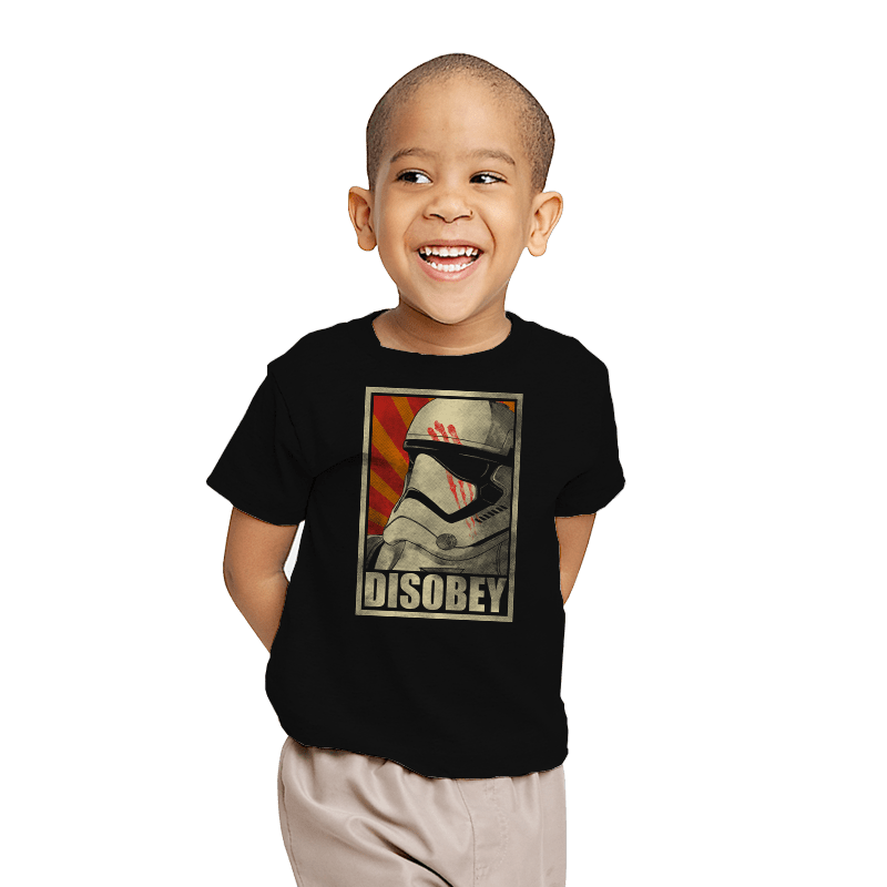 Disobey! - Youth - T-Shirts - RIPT Apparel