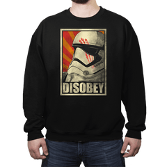 Disobey! - Crew Neck - Crew Neck - RIPT Apparel