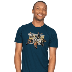 Super Star Kart: Lap VII - Mens - T-Shirts - RIPT Apparel