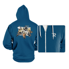 Super Star Kart: Lap VII - Hoodies - Hoodies - RIPT Apparel