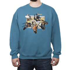 Super Star Kart: Lap VII - Crew Neck - Crew Neck - RIPT Apparel