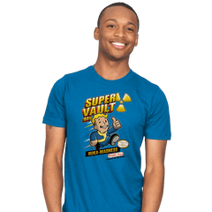 Super Vault Boy - Mens - T-Shirts - RIPT Apparel